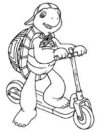 Small Picture Franklin the Turtle Coloring Pages 26 Malen Pinterest Turtle