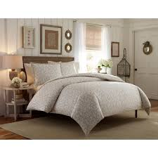 laura ashley victoria taupe 2 piece twin duvet cover sets 208760 the home depot