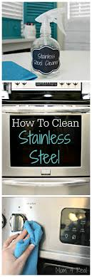 How To Clean Stainless Steal How To Clean Stainless Steel Streak Free Mom 4 Real