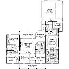 Farmhouse Style House Plan  4 Beds 250 Baths 2500 SqFt Plan 481052200 Square Foot House Plans
