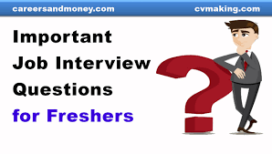 Important Job Interview Questions For Fresh Graduates Youtube