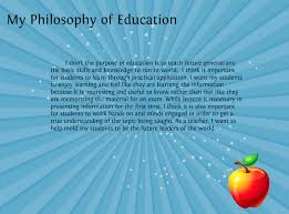 philosophy on education essay essays on education and educational about philosophy of education
