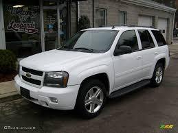 2008 Summit White Chevrolet TrailBlazer LT 4x4 #24945216 ...