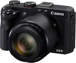 Цифрового фотоаппарата <b>Canon</b> PowerShot G3 X black купить в ...