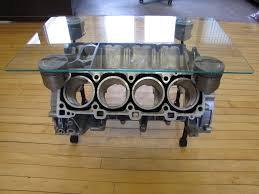 build engine block coffee table for living room design ideas