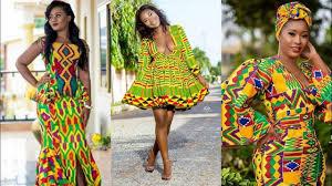 Ghanaian Ankara Designs 2019 African Ghana Kente Ankara Trendy High Class Lovable