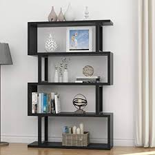 home office bookshelf. Tribesigns 4 Shelf Bookshelf Modern Bookcase Display Storage  Organizer Living Room, Home Office, Home Office Bookshelf L
