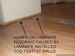 stunning wood laminate flooring installation bad laminate installation repair