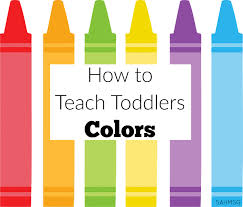 Fall Lesson Plans For Toddlers How To Teach Toddlers Colors The Stay At Home Mom Survival Guide