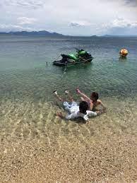 琵琶湖 湖水 浴