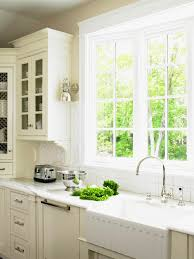 Gallery of amusing Kitchen Bay Window Over Sink