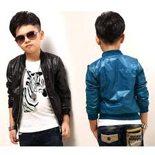 boys faux leather motorcycle jacket baby boys kids faux leather zip up motorcycle jackets coats