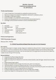 Different Resume Formats