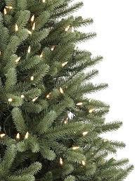 3 Ft Sky Blue Pencil Artificial Christmas Tree With Blue Lights Artificial Blue Spruce Christmas Tree