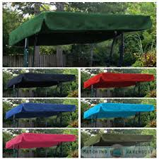 image is loading replacement canopy for swing seat garden hammock 2