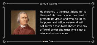 40 QUOTES BY SAMUEL ADAMS [PAGE 40] AZ Quotes Best Samuel Adams Quotes