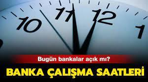 Bugün bankalar çalışıyor mu? 16 Temmuz bankalar açık mı, kapalı mı?