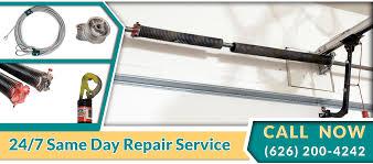 Garage Door Spring Replacement Pasadena | Spring & Cable Repair