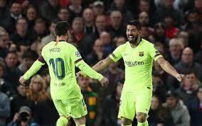 Image result for barcelona's celebration against united