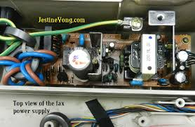 no power in panasonic fax machine solved electronics repair and fax machine power supply