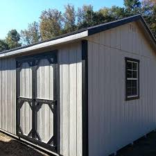 Storage Shed With Garage Door Wooden Plans
