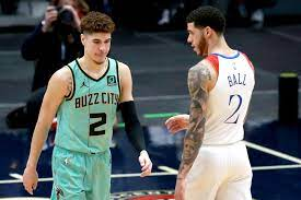 Three Ball Brothers In Charlotte Hornets