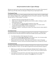 essay prompts and sample student essaysguide   four types of college essays — college essay guy