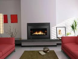 image of natural gas ventless fireplace inserts