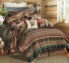 rustic bedding sets moose lodge rustic quilt bedding set