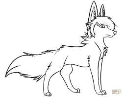 Realistic Wolf Coloring Pages Collection Coloring For Kids 2019