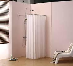 36 corner shower rod