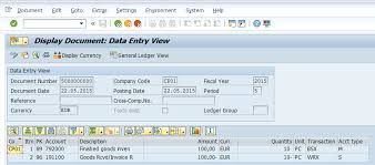 General Invoice Mesmerizing Quantity Update In Entry View And General Ledger View ERP