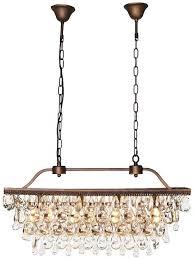 crystal droplets chandelier