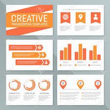 Presentation Charts And Graphs Free Vector Template For Presentation Slides With Graphs And Charts