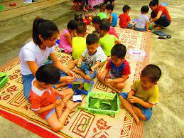 Hoạt động vui chơi ngoài trời cho trẻ 3 - 4 tuổi