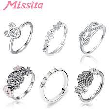 <b>MISSITA</b> 2019 New Fashion Classic Infinity Rings For Women ...