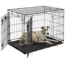 Midwest Dog Crate Size Chart Midwest Life Stages Double Door Dog Crate Walmart Com