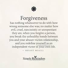 Quotes About Abuse Inspiration Bryant Mcgill Grey Text Cream Paper Forgiveness Abuser Victim
