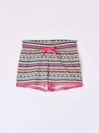 Var optical whiteico Sweatpant shorts with <b>ethnic</b>-<b>style</b> pattern - Buy ...