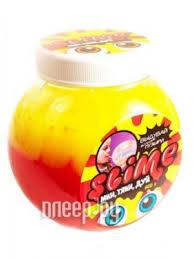 Купить Лизун Slime Mega Mix 500гр Yellow/Strawberry S500-2 по ...