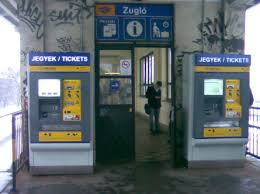 Ticket Vending Machine Budapest Fascinating MÁVSTART Internet Ticket Purchase
