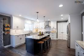 Sensational White Dark Kitchen Cabinets Kitchen Remodel In