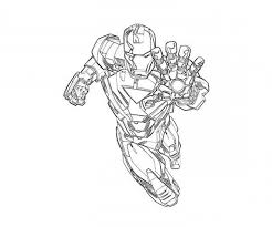Small Picture Mark 6 is on Duty in Iron Man Coloring Page NetArt
