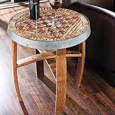 wine cork diy wine cork table