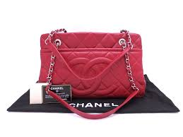 brandvalue chanel chanel bag matelasse red x silver metal fittings caviar skin leather chain shoulder bag tote bag lady s a67294 e33693 rakuten global
