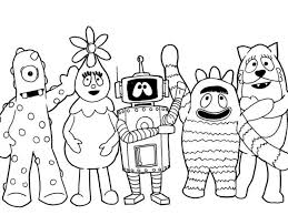 Small Picture Coloring Page Coloring Pages Nickelodeon Characters Coloring
