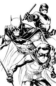 best of 180 best ic book coloring pages images on of printable nightwing coloring
