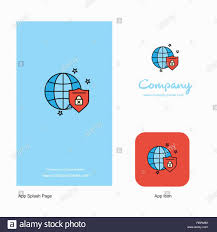 Design A Business Logo App Protected Internet Company Logo App Icon And Splash Page