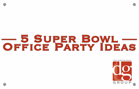 Super bowl office party ideas Recipes Super Bowl Office Party Ideas For 2018 The Dimensional Group Super Bowl Office Party Ideas For 2018 The Dimensional Group