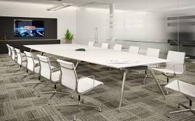 executive white boardroom tables